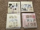 Close to my heart acrylic stamps lot of 39 stamps