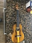 Ohana Tenor Ukulele ModelTK350 G with KNA UK 1 Piezo Pickup Installed