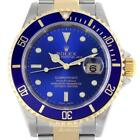 Rolex Submariner Mens Watch 16613 Box & Papers 2004