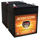 Qty 2 VMAX V06 43 12V 6ah replacement for EVO 120 Electric Scooter Battery
