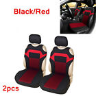 2x T shirt Design Car Front Row Seat Cover Universal Seat Cushion Protector