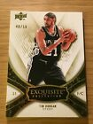 08-09 Exquisite Collection GOLD Tim Duncan 50