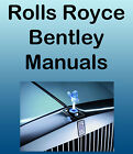 BENTLEY Continental, 8, Mulsanne, Turbo R 1980-89 SERVICE & PARTS -11- MANUALS