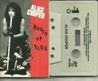 alice cooper house of fire/ballad of dwight fry (cassette single 1989 CBS)