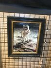 Signed Photo Of Buzz Aldrin On The Moon Nasa , Apollo