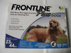FRONTLINE PLUS for Dogs 23 44 Lbs 6 Month Supply MERIAL FREE SHIPPING USA
