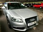 2010 60 AUDI A3 20 TDI QUATTRO BLACK EDITION LEATHER PRIV GLASS LOVELY