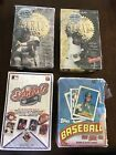 Lot Of 4 1989 91' 94' Tops Upper Deck Baseball Cards Box The Leaf Canseco Jordan