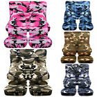 CC Front +Rear car seat covers urban camouflage fits wrangler YJ TJ LJ