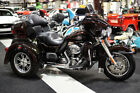 2011 Harley Davidson Touring 2011 TRI GLIDE ULTRA 14627 MILES MERLOT VIVID BLACK SERVICED LUGGAGE RACK CD CB