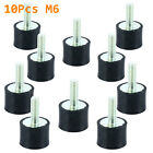 5pcs 10pcs M6 M8 Rubber Shock Absorber Anti Vibration Isolator Mount Car Bobbins