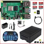 Raspberry Pi 4 Model B DIY 4G 2G 1G Kit NOOBS Ultra Silent Fan