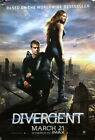 DIVERGENT 4'x6' 2014 Movie Poster From Theater. Theaters And IMAX