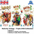 Nativity Trilogy Series 1 3 Triple Complete Collection 1 2 3 NEW SEALED UK DVD