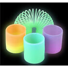 Dozen 15 Glow in the Dark Coil Spring Party Favor Party Gift Bag Fillers Prize