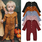US Kids Baby Girl Boy Autumn Winter Knitted Romper Jumpsuit One Pieces Clothes