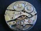 1906 16S Waltham Riverside 19J Pocket Watch Movement Cleaned and Serviced