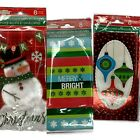 Christmas cards money holders with envelope greeting holiday snowman trees