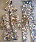 TOMMY D CAMO 7mm Jacket Hood Farmer John 3 Pc Wetsuit SIZE MED riffe omer mares