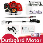 2 Stroke 25 HP Boat Engine Outboard Motor Engine inflatable CDI System New