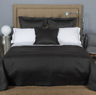 FRETTE MELODY FULL QUEEN COVERLET BROWN NEW