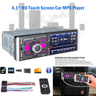 4.1IN High Definition Touch Screen Car Digital MP5 Player w/Camera Radio Stereo