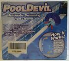 Pooldevil Pro Automatic Pool Surface Dirt and Leaf Skimmer Cleaner