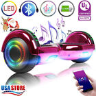 65 Hoverboard Bluetooth LED Electric Self Balance Scooter no Bag Birthday Gift