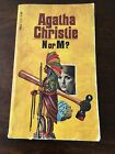 Agatha Christie N or M Paperback New Dell Edition 1st Printing 1977