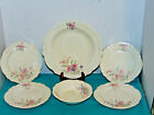 Vintage Homer Laughlin Virginia Rose 1-Bowl-4-Bread & Butter-1-Berry Bowl