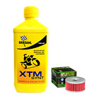 Inspection Set Bardahl XTM Synt 10W40 Oil Filter Beta M4 Motard Suzuki Dr 350