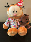 Ty Beanie Babies Goodnight Garfield with Tag