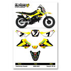 Suzuki Jr50 JR 50 Graphics Kit stickers decal Fits 2000 2001 2002 03 04 05 06 07