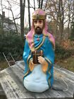 Empire 41 Christmas Nativity Manger Wiseman Wise Man King Blowmold Blow Mold
