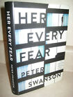 Her Every Fear Peter Swanson Mystery 1st Edition First Printing Crime Thriller