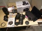 Canon EOS 700D 18.0MP DSLR Camera Kit w/ EF-S 18-55mm IS STM.+ 75-300mm zoom
