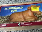 NEW CHRISTMAS NATIVITY COW LIGHTED INDOOR OUTDOOR BLOW MOLD YARD DECOR