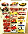 Fire Trucks Chief Rescue Ambulance CoptersWITH CASE HWMatchbox RC Maisto