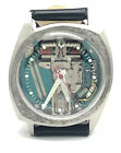 1966 Bulova Accutron Spaceview 214 Stainless Steel Fancy Case Watch! Tuning Fork