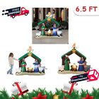 65 Outdoor Christmas Inflatable Nativity Scene Yard Holiday Airblown Decor