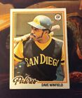 Dave Winfield Cards, Rookie Cards and Autographed Memorabilia Guide 16