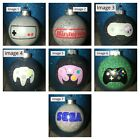 Video Game Controller Inspired Glitter Tree Ornament Shatterproof Personalize