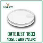 ♛ ROLEX Acrylic Crystal With Cyclops 118 High Quality For Rolex DateJust 1603 ♛