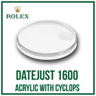 ♛ ROLEX Acrylic Crystal With Cyclops 118 High Quality For Rolex DateJust 1600 ♛