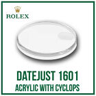 ♛ ROLEX Acrylic Crystal With Cyclops 118 High Quality For Rolex DateJust 1601 ♛