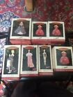 HALLMARK KEEPSAKE CHRISTMAS ORNAMENTS lot of7 HOLIDAY BARBIE 1993,1994,1995,1996