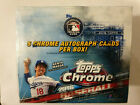 2016 Topps Chrome Hobby Box with 5 Autograph Cards - Factory Sealed