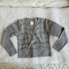 Versace Jeans Couture Womens Small Grey Sweater Knit Vintage