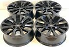 20 20 inch OEM Factory Ford F 150 King Ranch GLOSS BLACK Wheels Rims Set of 4