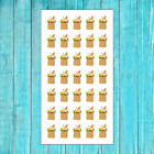 35 Grocery Shopping Bag Stickers For Happy Planner Calendar Matte Finish